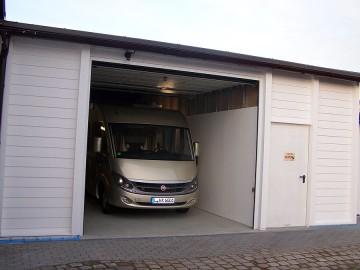 Wohnmobil gut geparkt